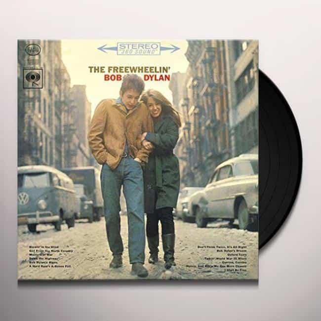 Рис. 2. «The Freewheelin' Bob Dylan» содержит 4 дополнительных трека