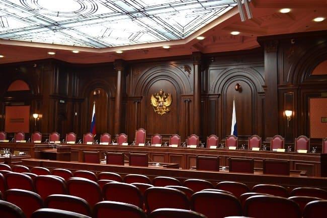 Рис. 2. Вид зала судебных заседаний.