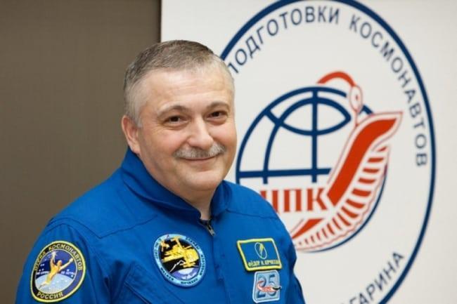 Рис. 3. Юрчихин Фёдор Николаевич, провел в космосе рекордные 672 суток 20 часов 38 минут, продолжает трудиться в центре подготовки