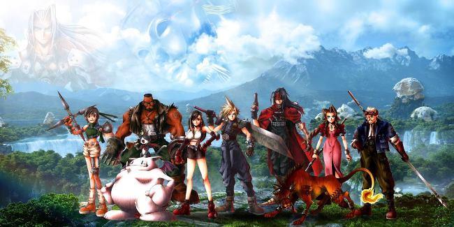 Рис.1 Final Fantasy VII