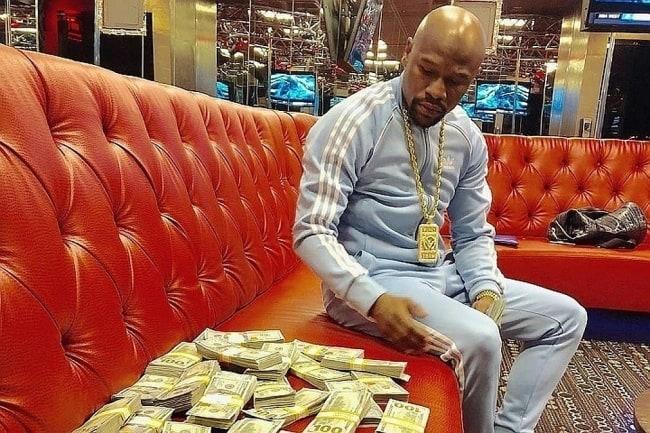 Рис.1 Самый богатый боксёр в мире Флойд Мейвезер