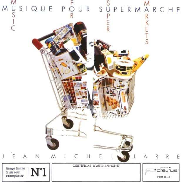 """Рис.1. Обложка альбома """"Музыки для супермаркетов"""""""