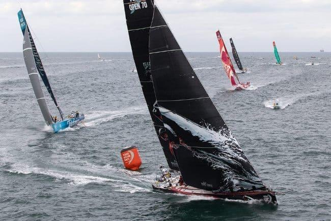 Рис.6 Океанская гонка «Вольво», яхты направляются в Майями