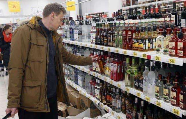 Рисунок 1. Брать алкогольные напитки лучше в крупных сетях или специализированных магазинах