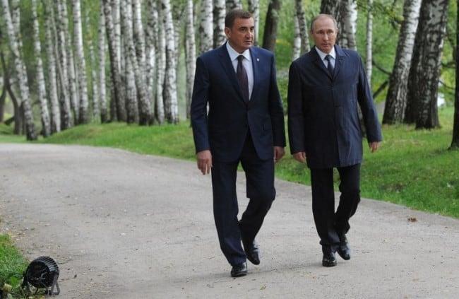 Рисунок 1. Фото на прогулке с президентом Путиным