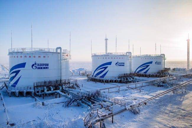 Рисунок 2. Объект ООО «Газпромнефть-Ямал» Новопортовское месторождение в ЯНАО