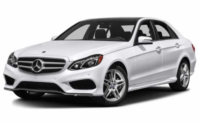 Рисунок 3. Члены семьи предпочитают передвигаться на Mercedes-Benz E-class