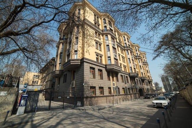 Рисунок 3. Дом в центре Москвы, в котором предположительно расположена квартира