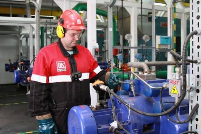Рисунок 4. Строительство точек, оснащенных высокоэффективным оборудованием, на месторождениях республики Коми сотрудниками компании «Лукойл»