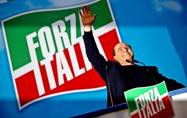 Рис. 1. Партия «Вперед, Италия!»