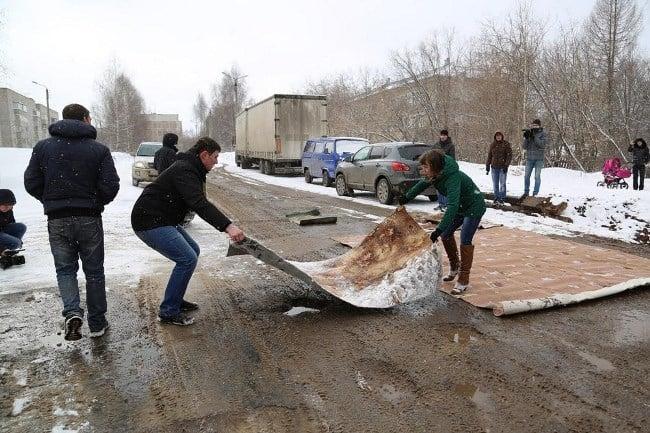 Рис. 2. Народный ремонт