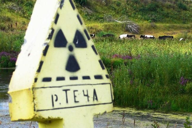 Рис. 2. Район реки Теча – Уральский Чернобыль