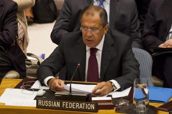 Рис. 3. Министр на заседании ООН в часах от Hublot Big Bang