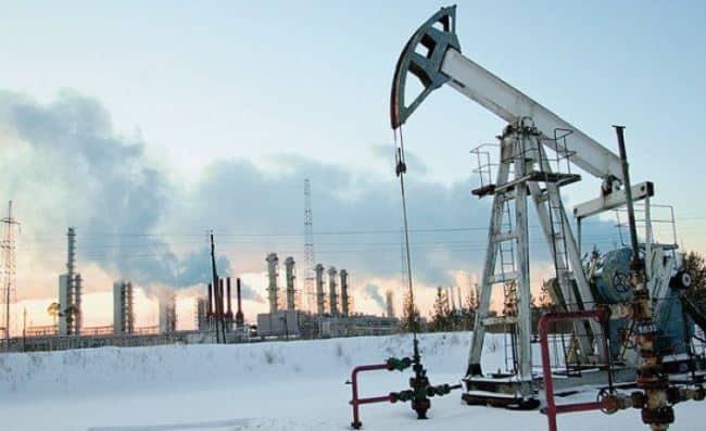 Рис. 3. Нефть в Югре