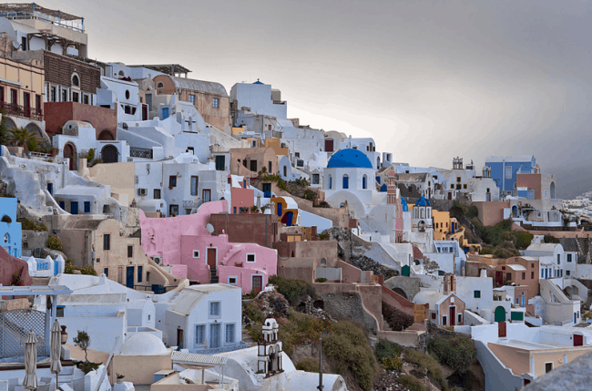 Рис. 9. Дома на острове Крит
