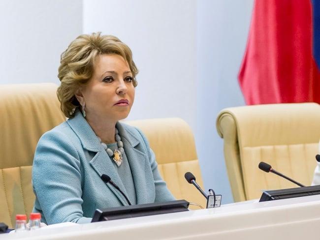 Рис.2: Председатель В. И. Матвиенко