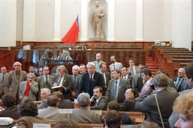 Рис.3. Съезд народных депутатов РСФСР