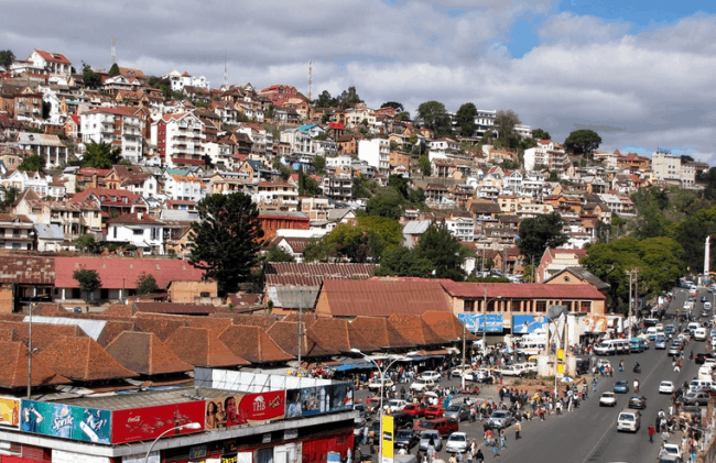 Рисунок 1. Вид на столицу Мадагаскара Антананариву