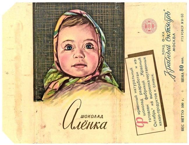 Рисунок 2. «Аленка» — одна из старейших марок шоколада в России с отличной репутацией