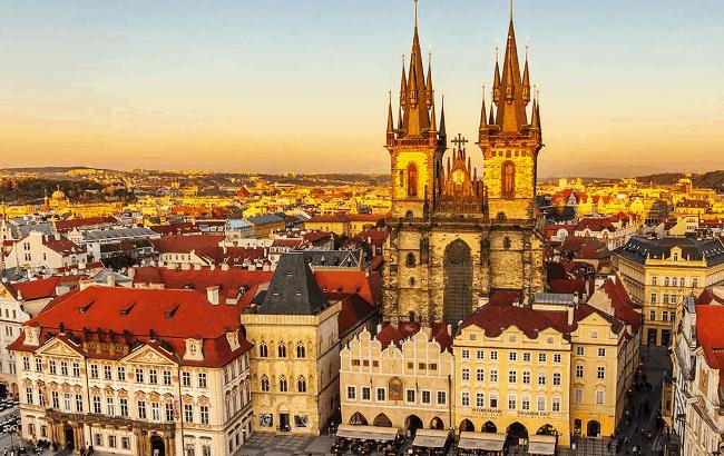Рисунок 2. Прага – столица Чехии
