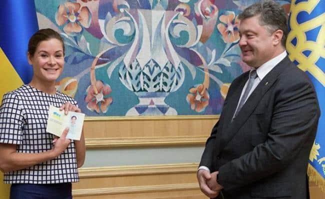 Рисунок 2. Присвоение украинского гражданства