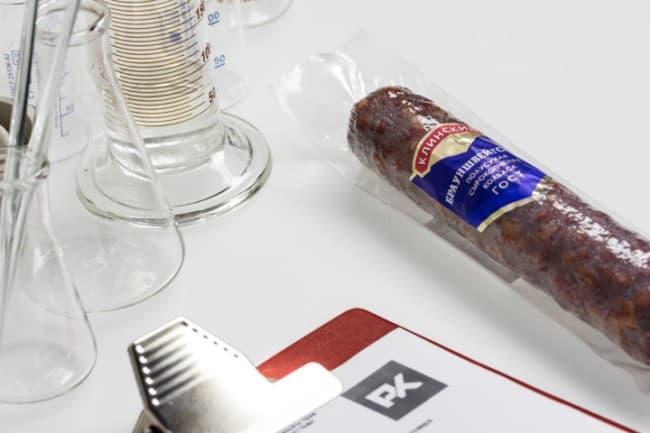 Рисунок 3. Контрольная закупка «Росконтроля» показала, что наилучшим качеством из пяти исследованных марок обладает «Брауншвейгская полусухая» Клинского мясокомбината