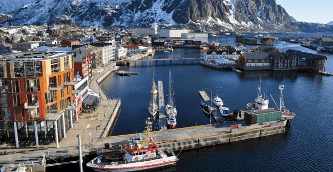 Рисунок 3. Типичная Норвегия