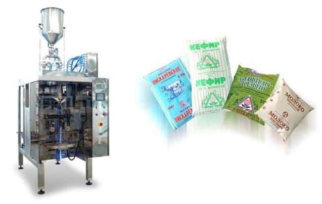 Рисунок 4. Фасовочная машина для упаковки молочных продуктов в удобные полиэтиленовые пакеты