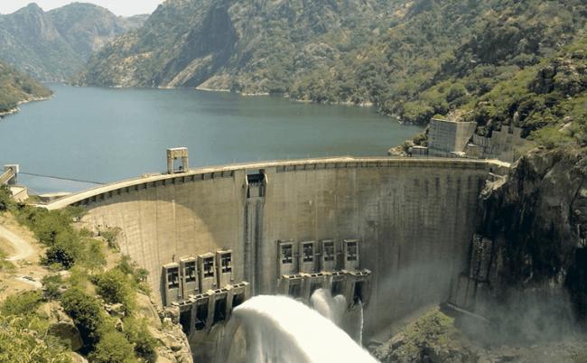Рисунок 4. Крупнейшая ГЭС Мозамбика «Кахора Баса»