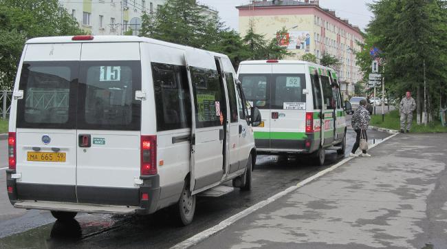Рисунок 4. Общественный транспорт представлен только маршрутками