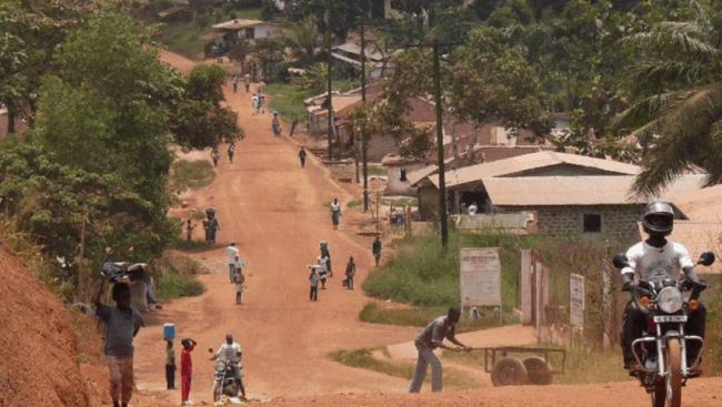 Рисунок 8. Столичная улица в Либерии