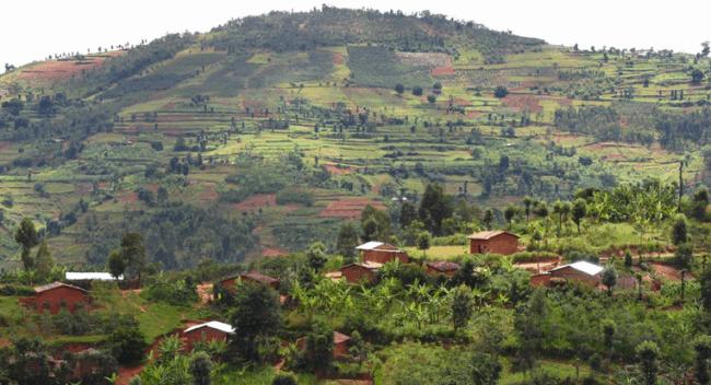 Рисунок 9. Деревня в Бурунди