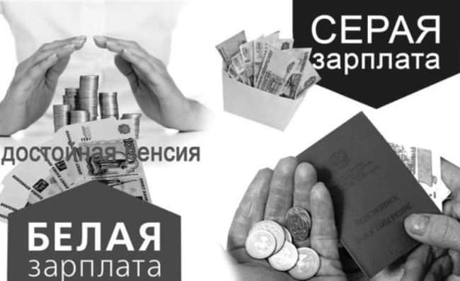 Рис. 1. Белая зарплата – залог благосостояния