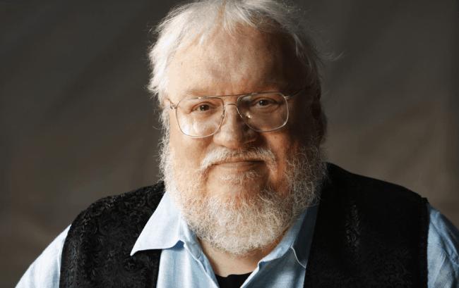 Рис. 1. Джордж Мартин – автор серии книг «Песнь льда и огня»