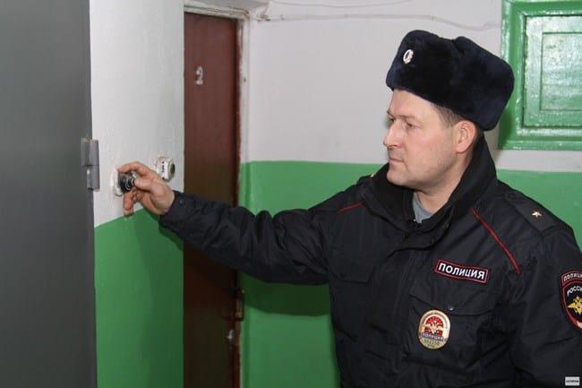 Рис. 1. Полиция работает по вызову