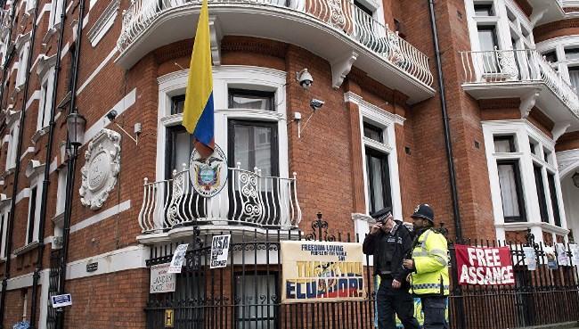 Рис. 1. Посольство Эквадора