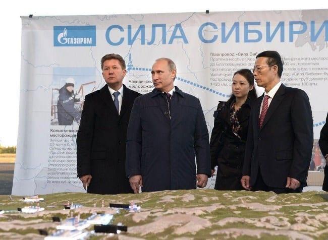 Рис. 1. Российская и китайская стороны проекта