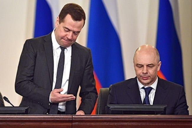 Рис. 1. С Председателем Правительства Д. Медведевым