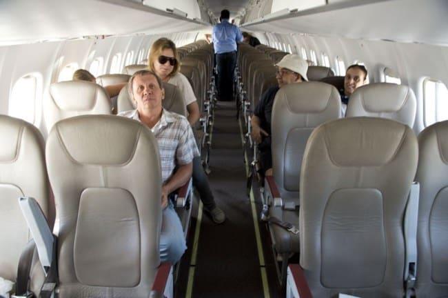 Рис. 17. Элитный перелет на ATR-72