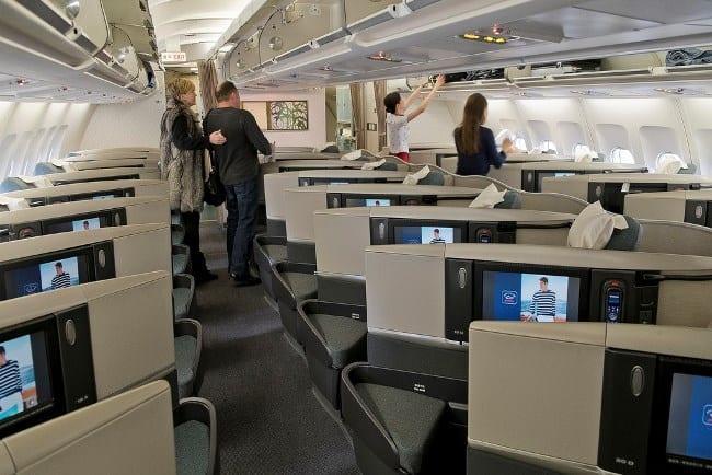 Рис. 19. Аэробус A340 Cathay Pacific