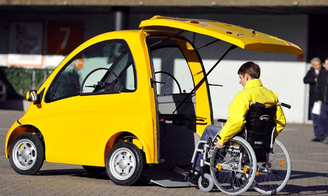 Рис. 2. Автомобиль для инвалидов