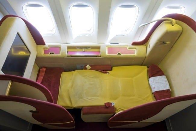 Рис. 2. Кресла Super Space на борту Boeing компании «Россия»