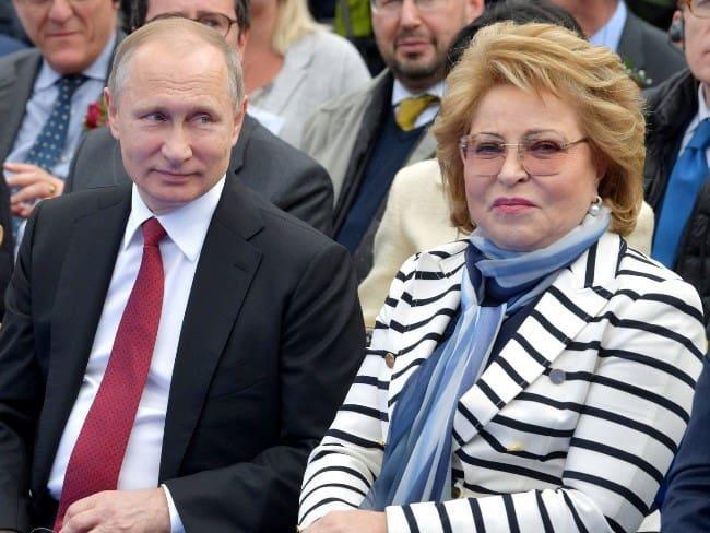 Рис. 2. С Президентом РФ В. Путиным