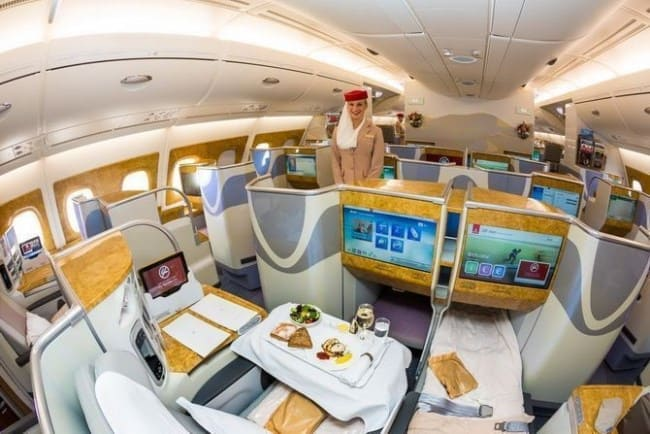 Рис. 20. Капсулы для пассажиров Emirates Airlines