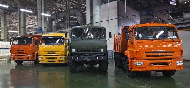 Рис. 3. КаМАЗы – самые популярные грузовики России