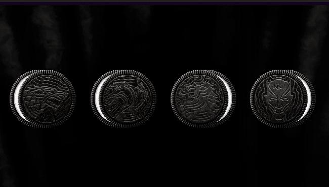 Рис. 4. Печенье Oreo с символами Великих домов
