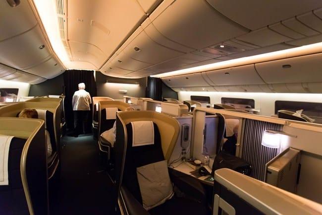 Рис. 4. Элитный перелет в British Airways