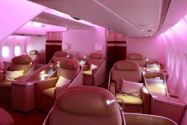 Рис. 5. Премиум-отсек на 4 или 9 мест в Air France