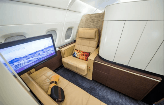 Рис. 9. First Class в Etihad Airways