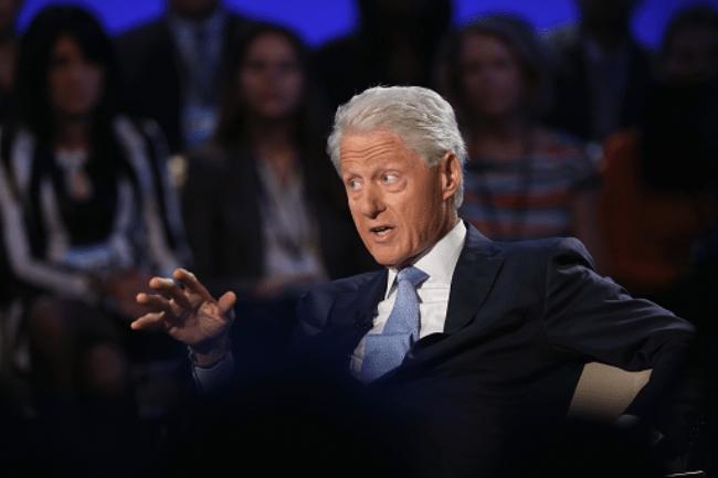 Рисунок 1. Клинтон в ток-шоу